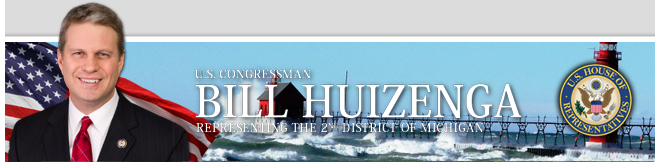 U.S. Congressman Bill Huizenga